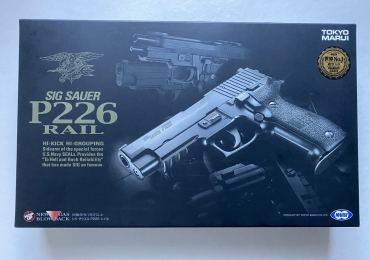 TOKYO MARUI – SIG P226 RAIL GAS BLOWBACK PISTOL