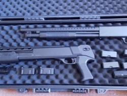 2 long range high power single shot shotguns
