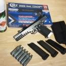 Co2 colt 2009 rail concept airsoft pistol