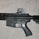 G&G CM16 with old plastic body swapped out for Metal Specna body