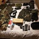 Airsoft guns and equipment