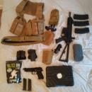 WE PDW + G&G Beretta M9