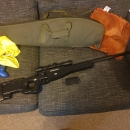 Well mauser l96 with 4×32 Richter scope 1 mag and rifle bag £80.