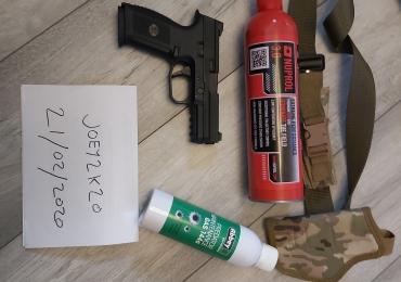 fns 9 gbb pistol 320fps