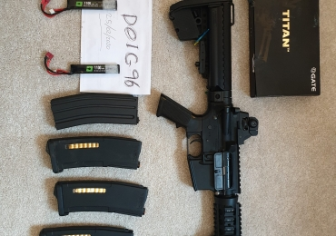 UPGRADED TOKYO MARUI CQB-R FULL PACKAGE RECOIL SHOCK NEXT GENERATION