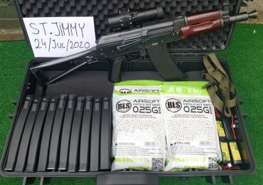 BOLT AIRSOFT AK74U RECOIL FULL PACKAGE