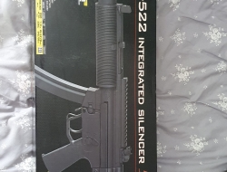 SOLD Two Tone GSG-522 Silenced SD6 Blow Back AEG