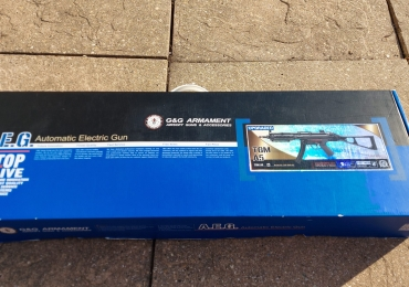 G&G MP5 TGM A5 boxed, plus 5 mags plus boxed solid stock
