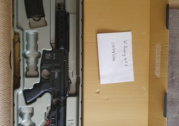 """ICS CXP-UK1 """"Captain"""" MTR M4 Airsoft AEG with Full Metal Receiver with MOSFET"""