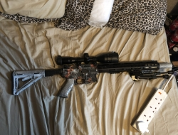 We gbb m4 +3 mags