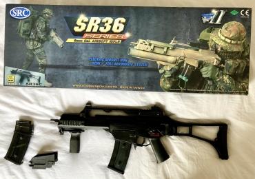 SRC G36C AEG Rifle