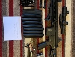 Specna Arms SA-H05 (Never skirmished) + kit (Offers Considered)