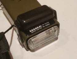 FMA Airsoft Ms2000 Working strobe marker light with emerson velcro pouch