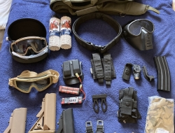Airsoft job lot kit