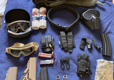 Airsoft job lot kit