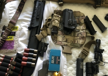 Airsoft job lot