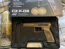 New ASG hand pistol