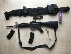 WE SR16 Gen 2 assault rifle
