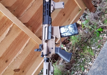 APS M4 Tactical Tan-Black