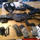 Umarex h&k g36c plus extras. Perfect starter kit