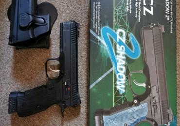 ASG CZ shadow 2 CO2 Blowback pistol