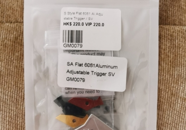 GunsModify SAI flat Aluminium Adjustable Trigger For Glock Series