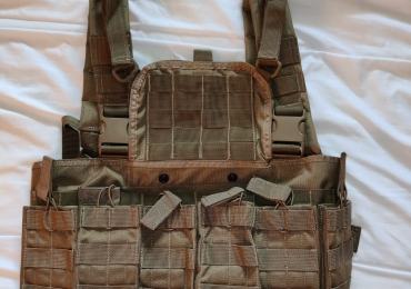 Bulle Molle Chest Harness with 5.56 Magazine Pouches