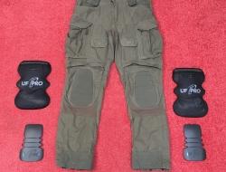 UF pro Striker X Combat Pants 33/32 brown grey