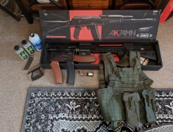Tokyo marui AK74m and extra gear