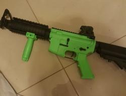 SR4 AEG rifle