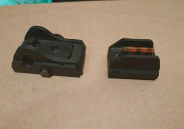 ASG EVO rear and front sights