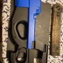 CYMA CM.060B P90 AEG used/ dan wesson 1911 valor